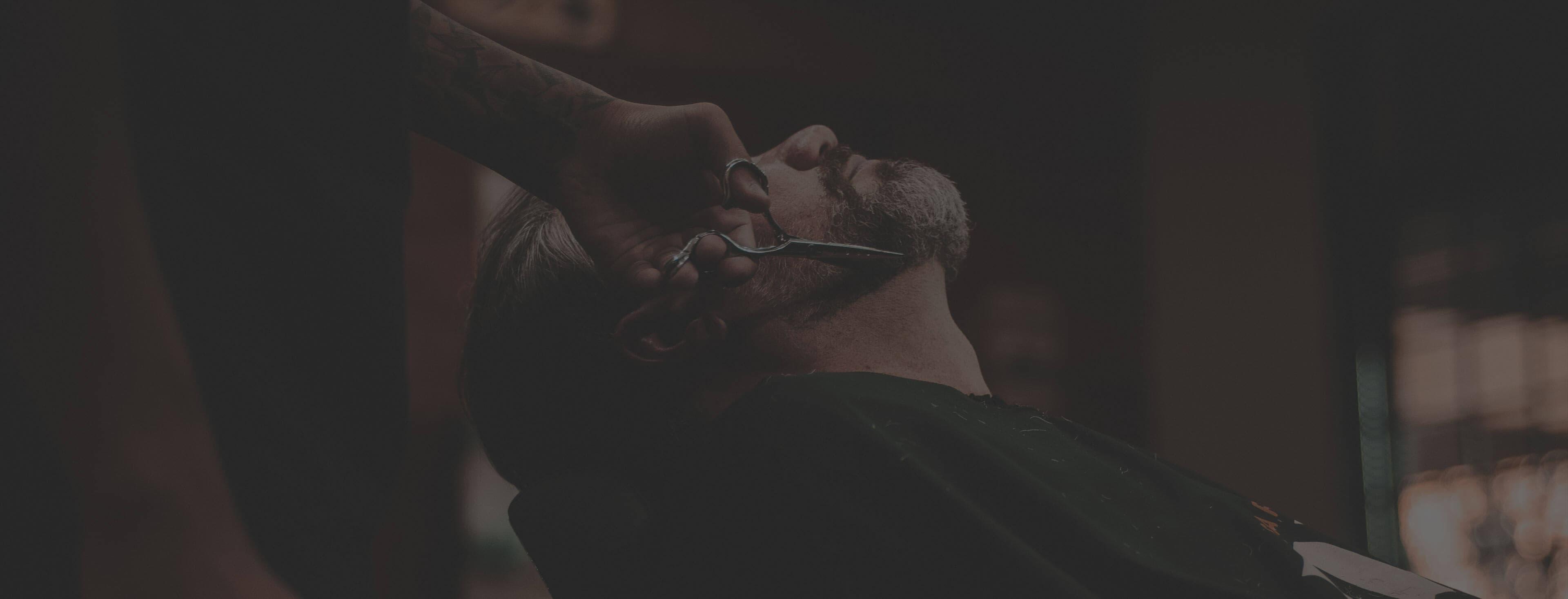 Athens Gentlemen Barbershop Homepage Hero Image
